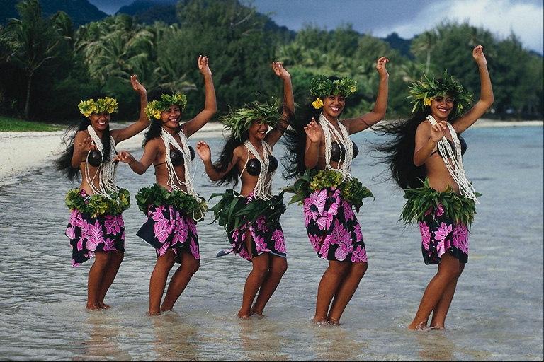 La danza hawaiana
